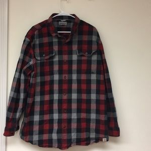 Carhartt Heavy Flannel Shirt Like New Size 2XL